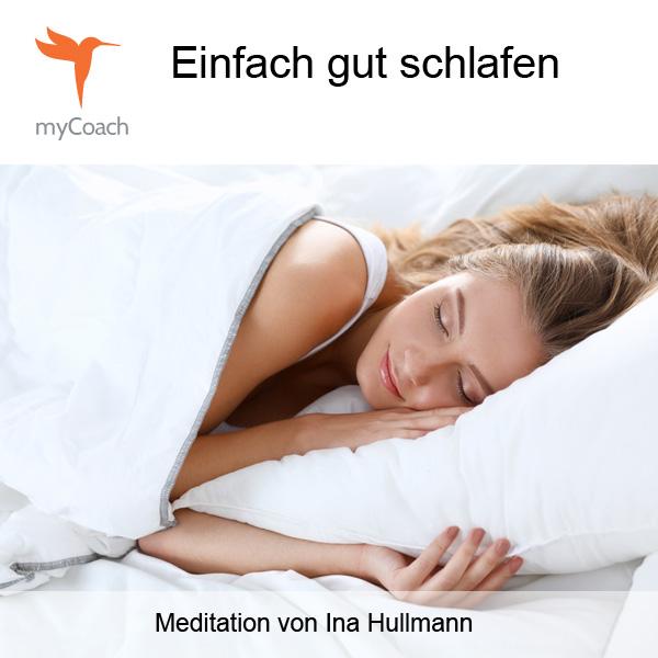 myCoach 14 - Einfach gut schlafen Cover