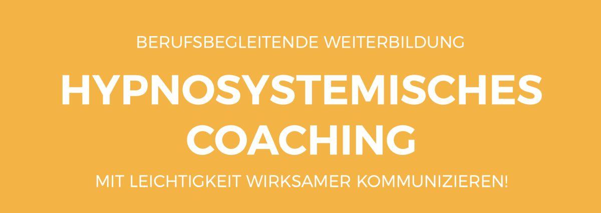 Ina Hullmann Hypnosystemisches Coaching Weiterbildung Banner Bild